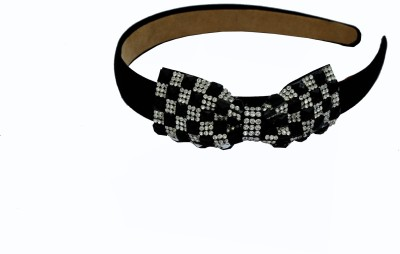 Itz About U Black Bow Hair Band