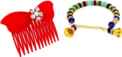 JUSF2 Clip and Band Hair Accessory Set