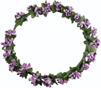 Loops n knots Princess Purple Head Band