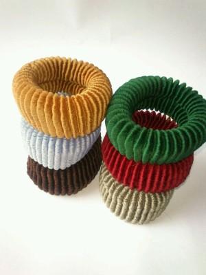 Samyak Stripped Multicoloured Hair Band
