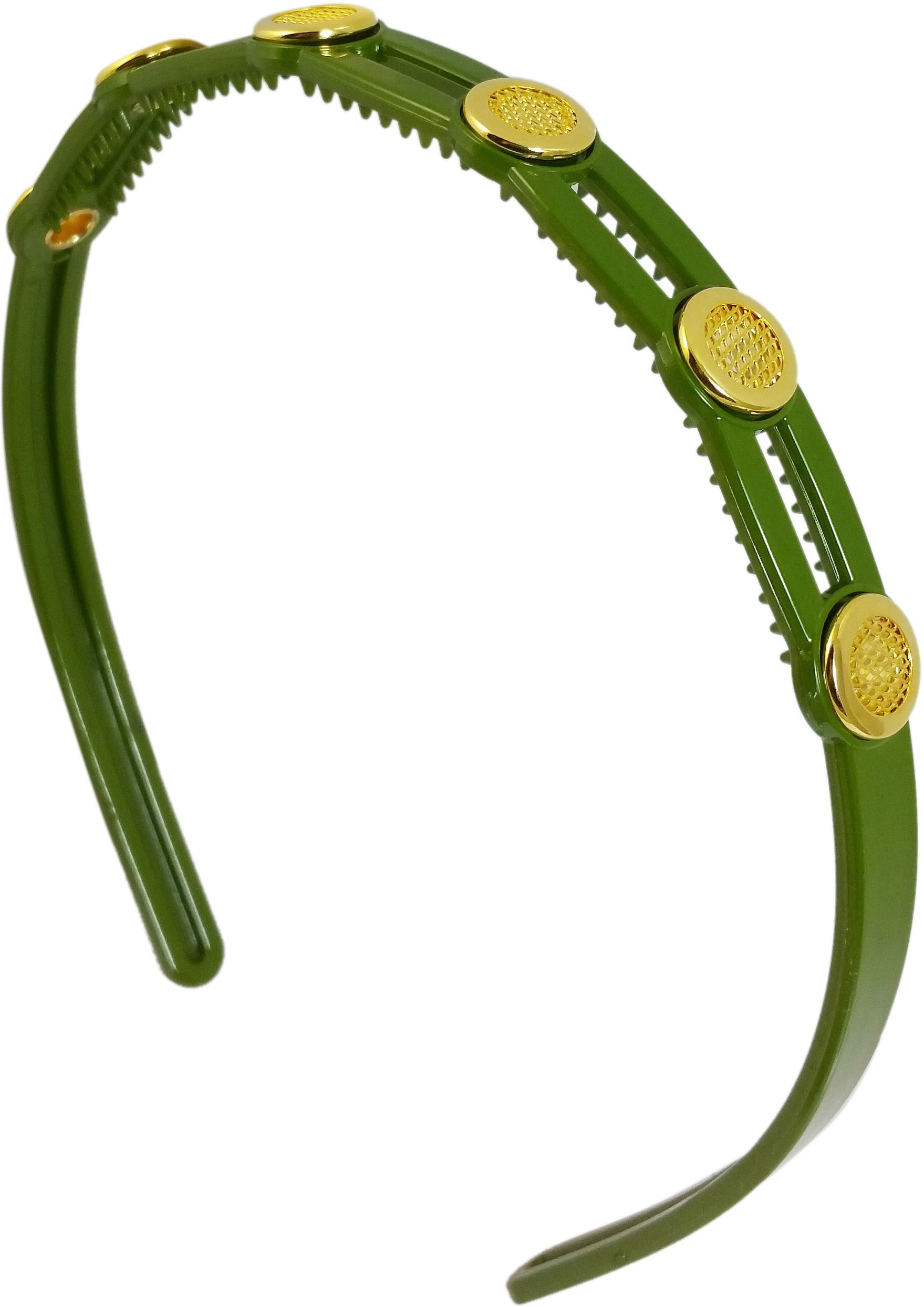 Ammvi Creations Badges Tiny Teeth Parrot for Women Hair Band(Green)