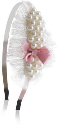 Hopscotch Beautiful Pearls Hair Band