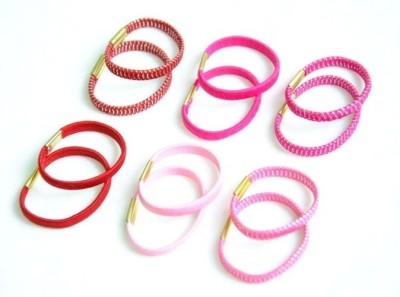 Pretty Women Thick Elastics Hair Accessory Set(Multicolor)