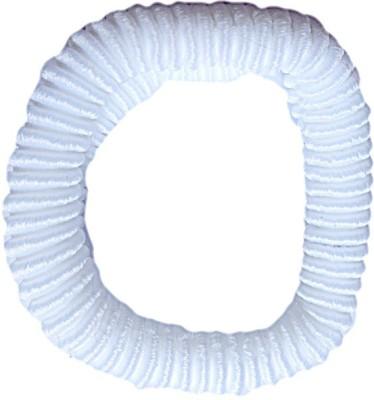 DCS Elastic Wollen White Hair Band