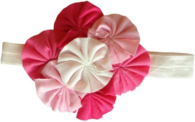 BabyZinnia Soft cotton Flower Bunch Head Band