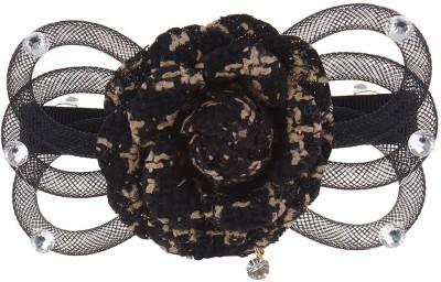Fayon Designer Modern Black Rose Funky Hair Clip