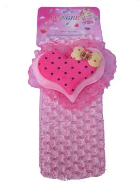 FNB Baby Cotton Stretch Pretty Light Pink Head Band