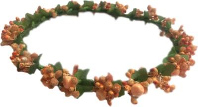 Loops n knots Nature Orange Head Band, Hair Band