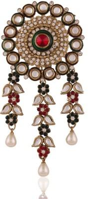 I Jewels Kundan Hair Pin