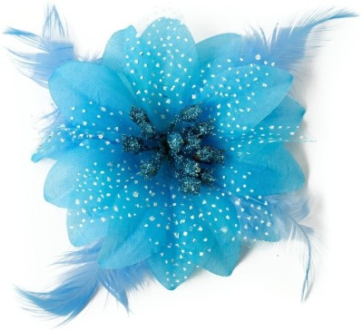 BabyZinnia Beautiful Feather Lace Flower crochet Head Band
