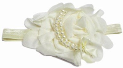 Pink & Blue India Beautiful Faded with Pearl Roses Head Band
