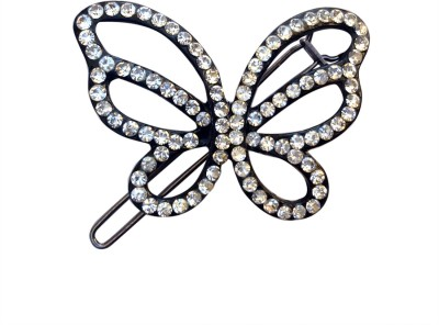 B-Fashionable Tri-Wing Butterfly Wire Clasp Hair Pin