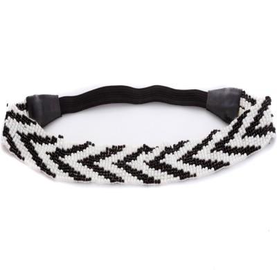 Trinketbag Monochrome Beady Pattern Stretchable Hair Band