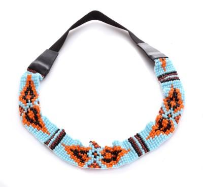 Trinketbag Splash Of Colours Beady Pattern Stretchable Hair Band
