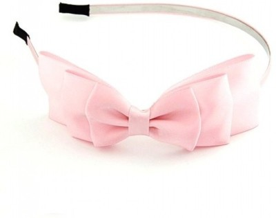 Crunchy Fashion Bowknot -Baby Pink Rubber Band