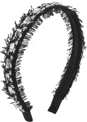 Fayon Trendy Fashion Black Thread Shining Hair Band
