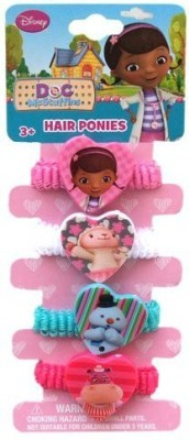 Disney Doc McStuffins Hair Ponies Rubber Band