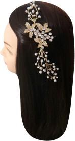 Vogue Limited Edition Exclusive Wedding Party Fancy Comb Hair Clip(Multicolor)