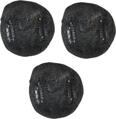 Majik Wedding accessories (Set Of 3) Bun(Black)