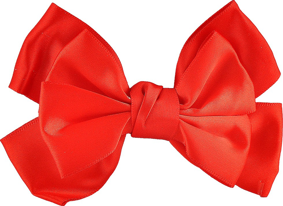 Stoln Bow Hair Clip(Red)