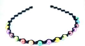 Anokhi Ada Black Curled Hair Band
