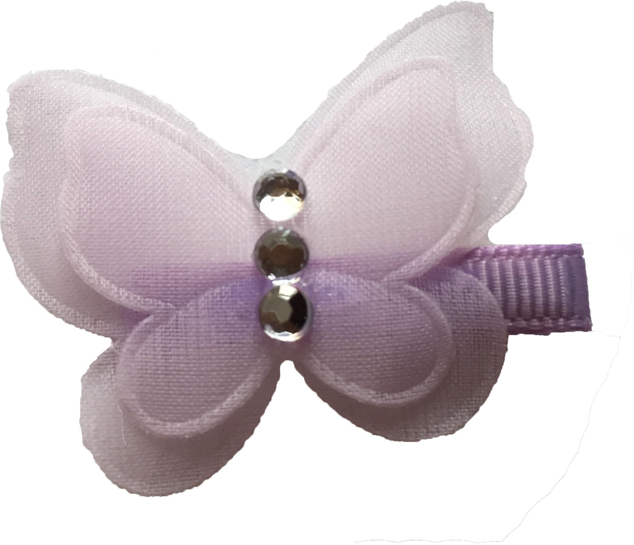 Bellazaara Pretty Butterfly with rhinestone : Lilac Hair Clip best price on Flipkart @ Rs. 105
