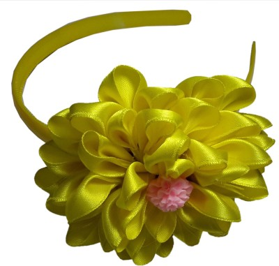 Apeksha Arts Yellow Floral Hair Band Head Band