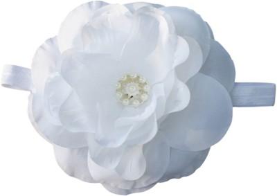 BabyZinnia Big flower diamond pearl Soft Head Band