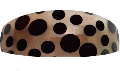 Shreya Collection Yellow & Black Colour Shiny Hair Ponytail Barrette Clutcher Clip Alligator Buckle Back Pin