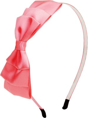 Fayon Contemporary Statement Pink Bow Hair Band