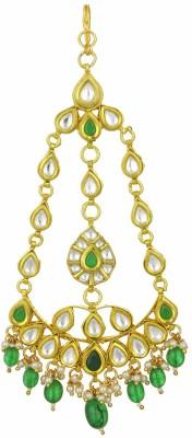 Kushals Fashion Jewellery Kundan Hair Chain