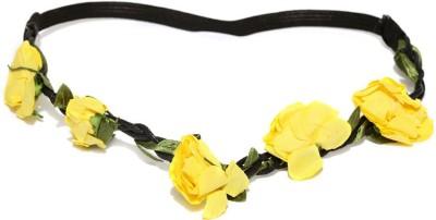 ToniQ Rose Yellow Head Band