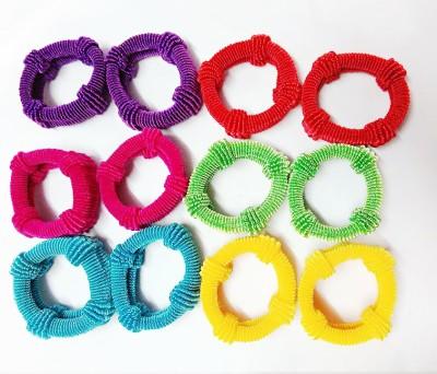 Samyak combo of 6 colours hair Rubber Band