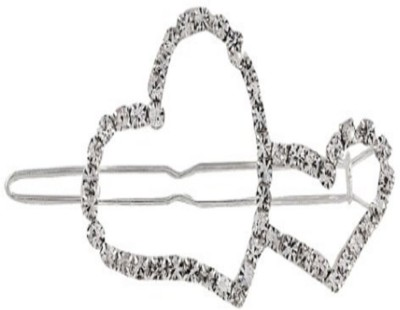 Stile Double Heart Hair Pin