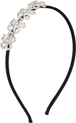 Fayon Floral Rhinestone Hair Band