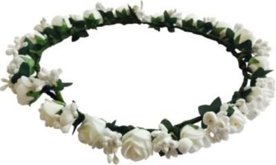 Blossom White Tiara Head Band