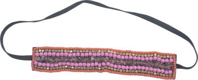 MPCI Red Multi color glass Hair Band