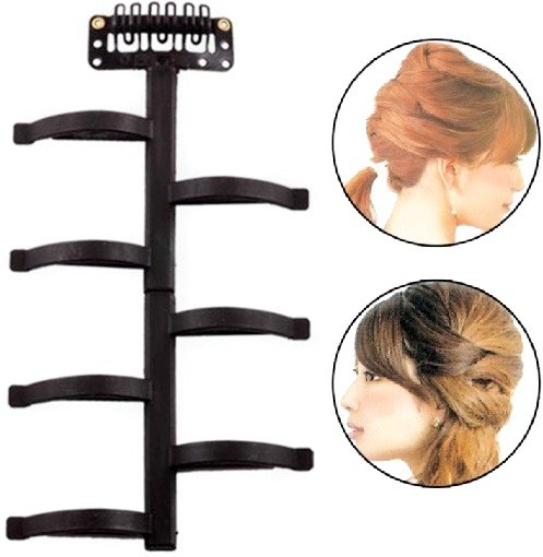 Out Of Box 1 Pc Hair braider twist styling tool hair style device Hair Accessory Set(Black)