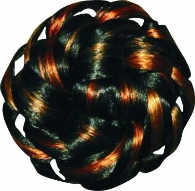 Ragahv Hairs Black Orange Hair Bun
