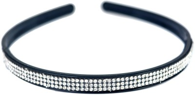 Globalgifts set of 2 with sparkling stones Hair Band