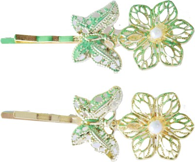 Bows Are Wows cute butterfly & flower Hair Pin