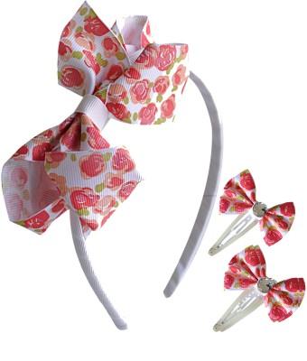 Hopscotch Floral Ribbon Hair Accessory Set