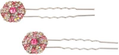 Sparkle Street Glitter Ball Hair Pin