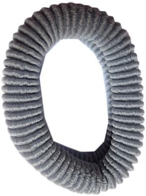 DCS Elastic Woolen Grey Rubber Band