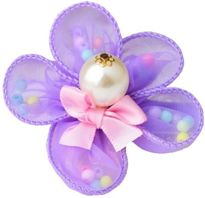 Angel Closet Flower with Pearls Hair Clip