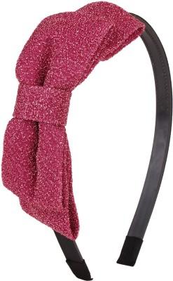 Fayon Chic stylish Pink Shining Bow Hair Band