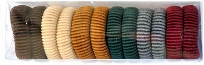 Chooz Designer Studio Multicolor Elastic Round Rubber Band, Hair Band