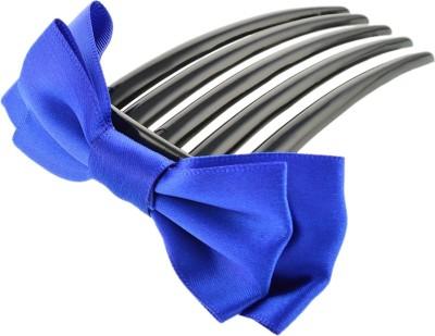 Aaishwarya Royal Blue Bow knot Comb Hair Clip