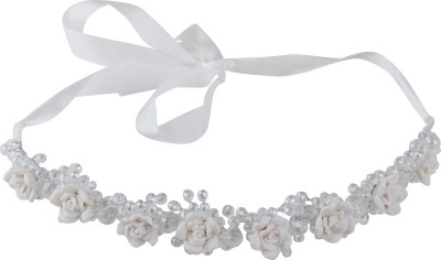 Pink Rose Princess Charm Head Band