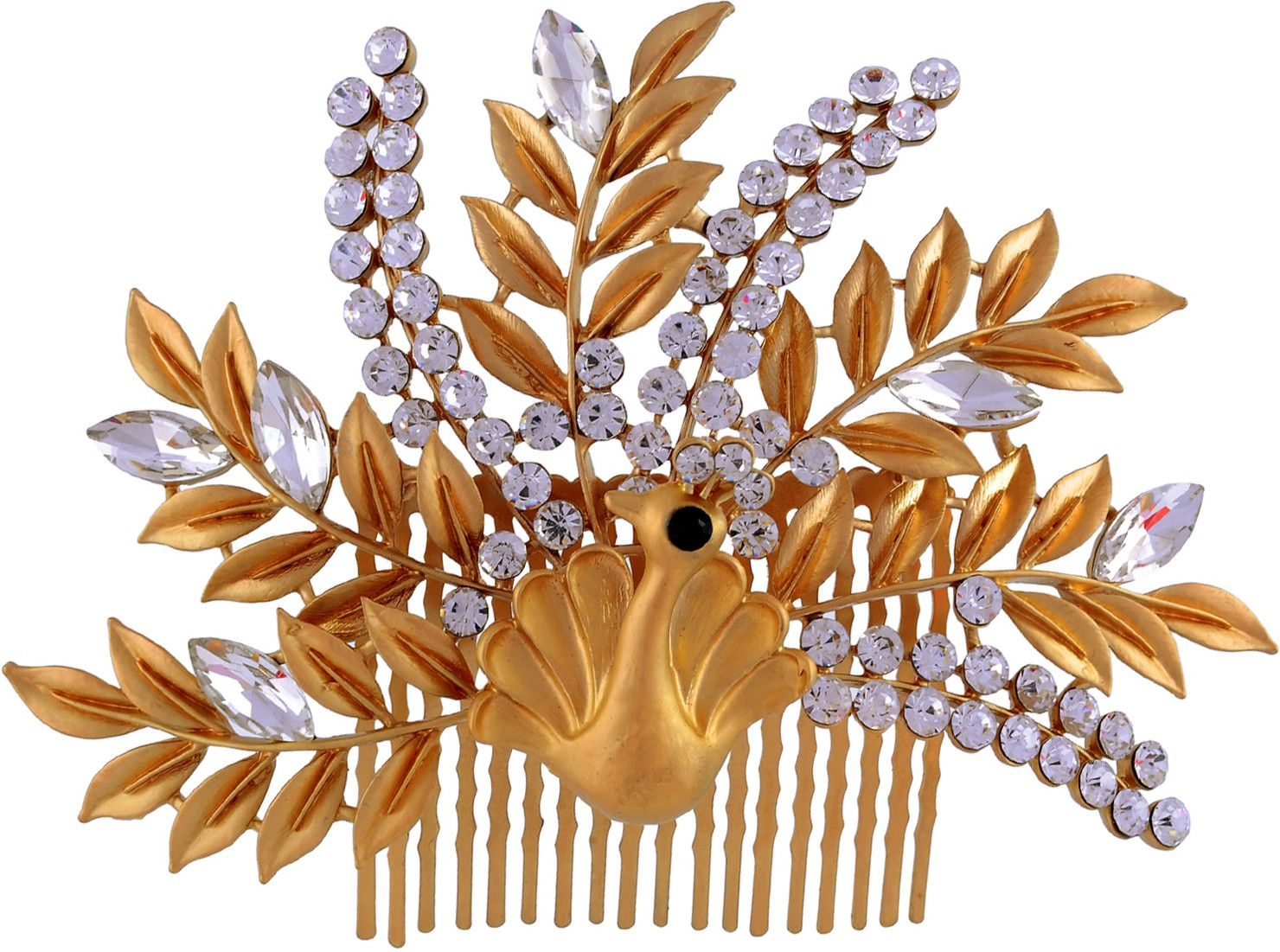 K.R.S. Jewels H13 Hair Clip(Yellow)